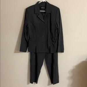 Charcoal Gray Jacket & Pant Suit
